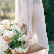 Stunning Garden Bride with an Ethereal Veil