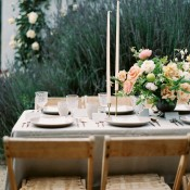 Rustic Chic Flower Farm Wedding