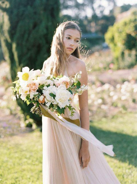 Dimitri Wedding Gowns 23 Lovely Romantic Blush Wedding Dress