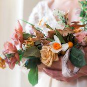 Elegant Neutral Bridal Bouquet
