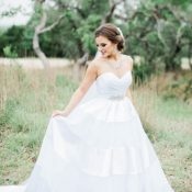 Classic Southern Belle bride