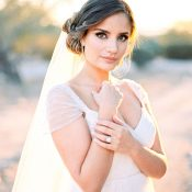 Ethereal Bride in Jenny Yoo