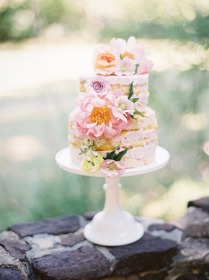 Watercolors And Pastels For An Artistic Garden Wedding