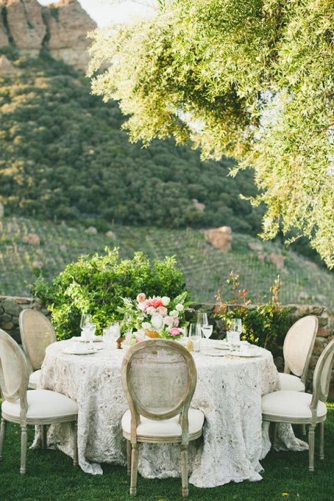 Elegant Neutral Winery Wedding in Southern California