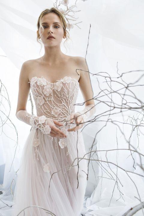 Ethereal Wedding Dresses 67 Inspirational Floral Graceful Vine and