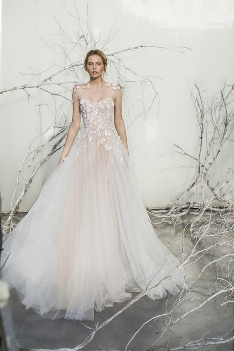 Ethereal Wedding Dresses 45 Cool Elsa Ethereal Floral A