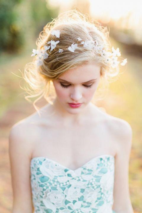 Colorful Modern Fairy Tale Bridal Shoot Hey Wedding Lady
