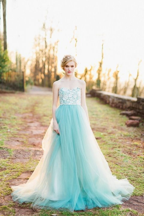 Rustic Vintage Wedding Dresses Fairy Tale