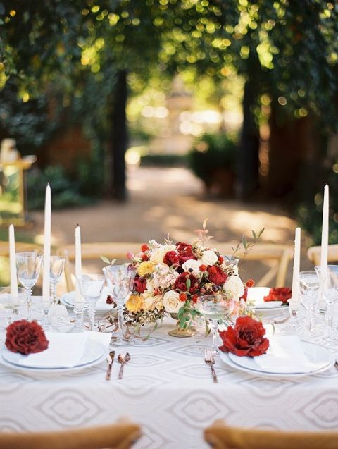 Vintage Wedding Styling in an Autumn Garden - Hey Wedding Lady