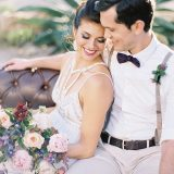Earthy Glam Style for a Desert Chic Wedding