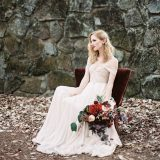 Dark Fairy Tale Wedding Shoot in the Mountains