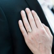 Lovely Solitaire Engagement Ring Shot