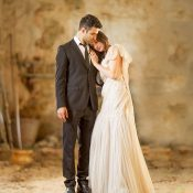 Romantic Italian Wedding with Couture Bridal Style