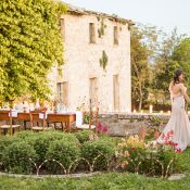 Romantic Villa Wedding in the Heart of Tuscany