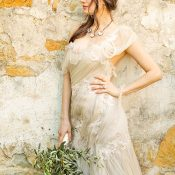 Ethereal Chiffon Samuelle Couture Wedding Dress