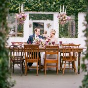 Secret Garden Wedding with a Modern Twist