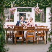 Secret Garden Wedding with a Modern Twist