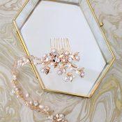 Crystal and Bohemian Bridal Headpiece