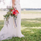 Dreamy Southern Lakeside Bridal Portraits