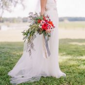 Rustic Lakeside Brunch Wedding Captured on Film