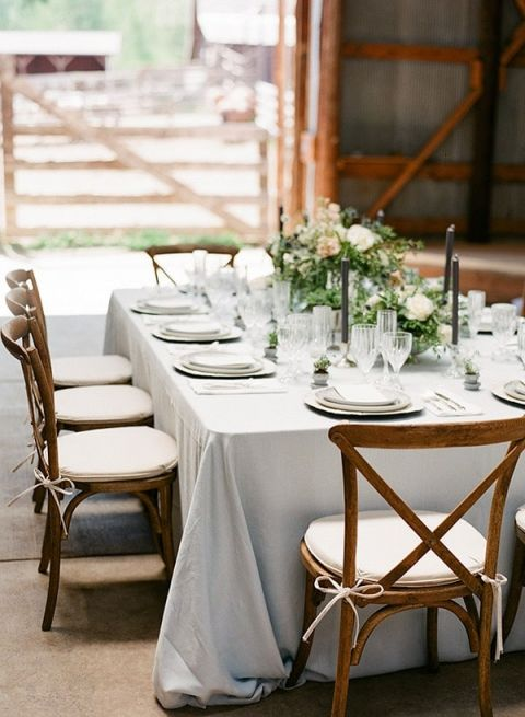 Rustic Elegance Ranch Wedding Shoot In Dusty Blue Hey