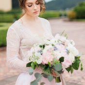 Blush Pink Spring Bridal Bouquet