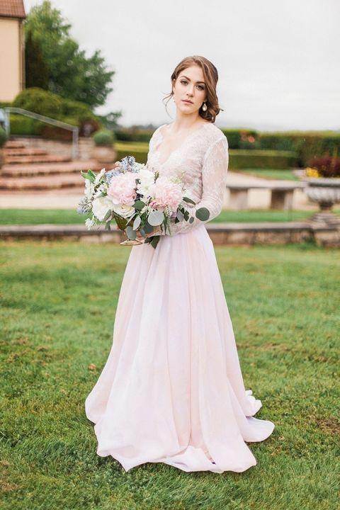 Tropical Dresses For Weddings 67 Amazing Romantic Blush Wedding Dress