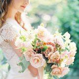 Southern Peach Summer Wedding Palette