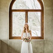 Ethereal A-Line Wedding Dress