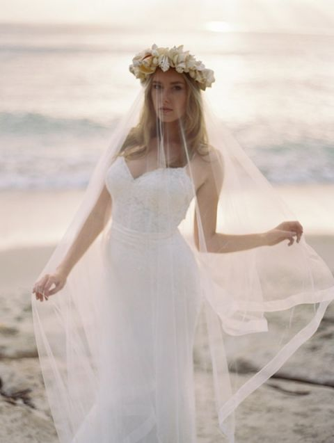 Summer Wedding Dresses For The Beach 86 Awesome Ethereal Beach Bride with