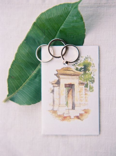 Engagement Rings and an Invitation for an Intimate Destination Elopement