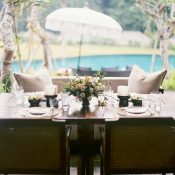 Intimate Tropical Sweetheart Table for a Destination Elopement