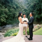 Intimate Vow Renewal in Bali
