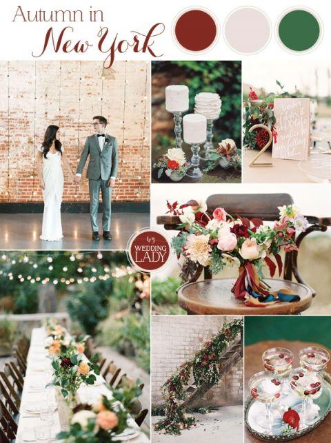 Enchanting Fall Wedding Palette Inspiration Hey Wedding Lady