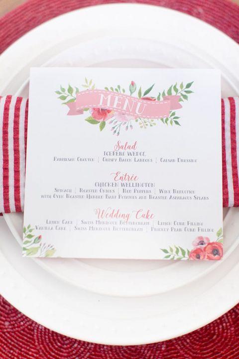 Cricut Wedding Invitations 44 Popular Retro Chic Red and