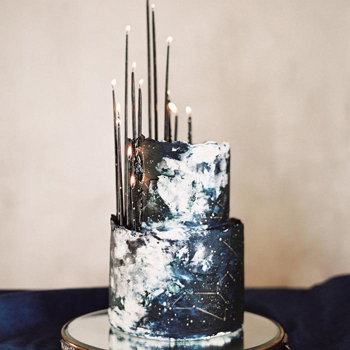 Starry Night Wedding Ideas in Indigo Blue | Hey Wedding Lady