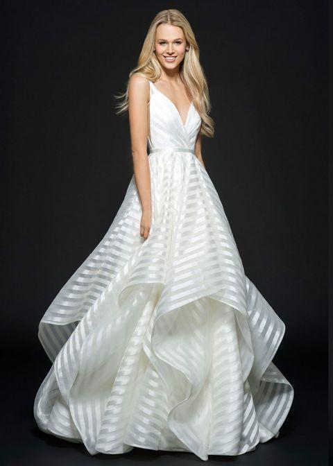Buy Hayley Paige Wedding Dresses 48 Perfect Modern Preppy Striped Hayley