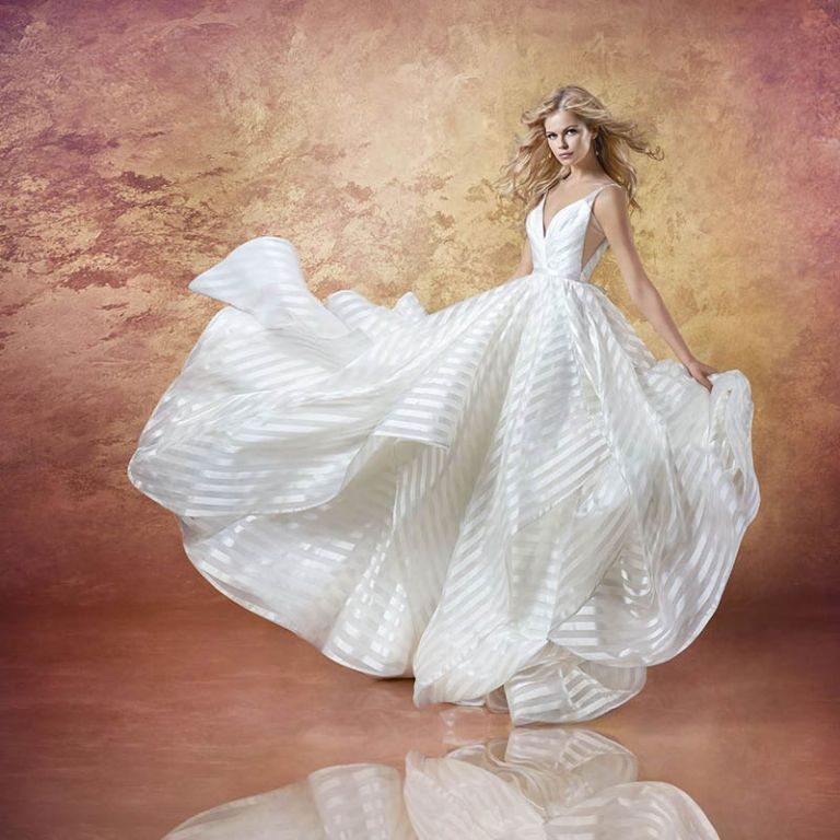 Hailey Paige Wedding Gowns: Styling Decklyn By Hayley Paige