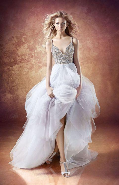 Buy Hayley Paige Wedding Dresses 39 New Arlo Beaded V Neck