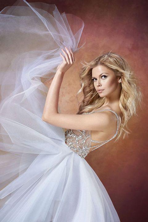 Buy Hayley Paige Wedding Dresses 54 Fresh Moonstone Tulle and Crystal