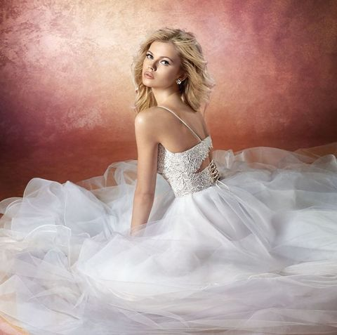 Corset Tulle Wedding Dress 80 Trend Bijou Tulle and Lace