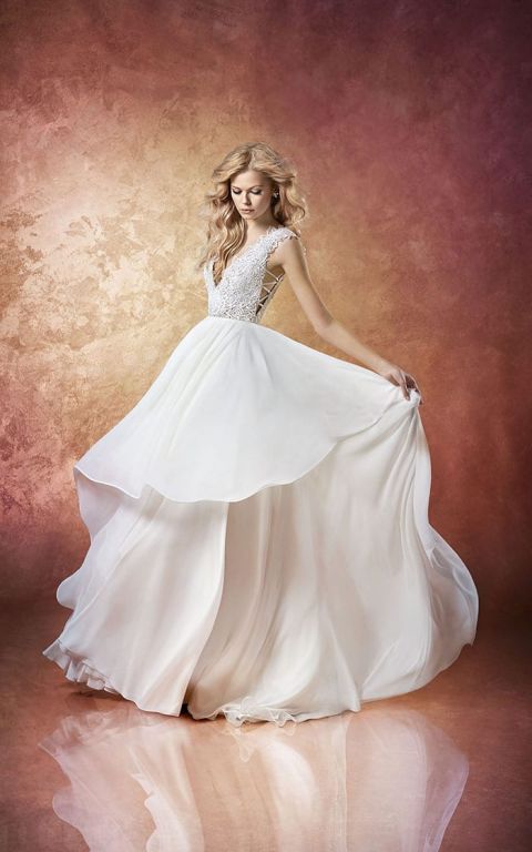 Buy Hayley Paige Wedding Dresses 66 Cute Leigh Chiffon and Lace
