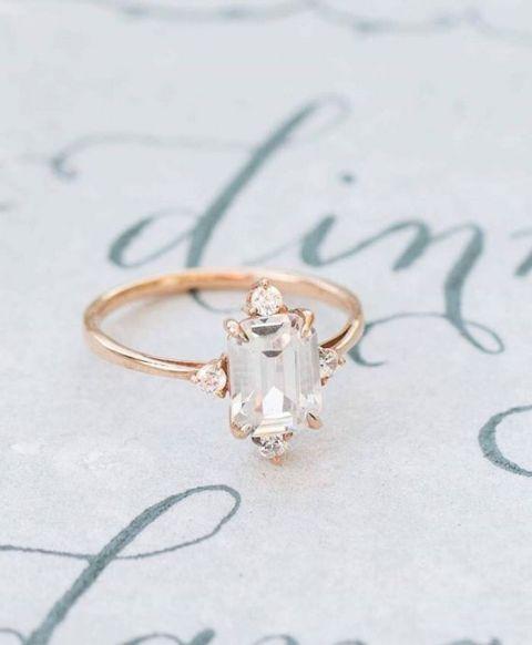 Wedding Ring Shop Hawaii 73 Epic Emerald Cut Engagement Ring
