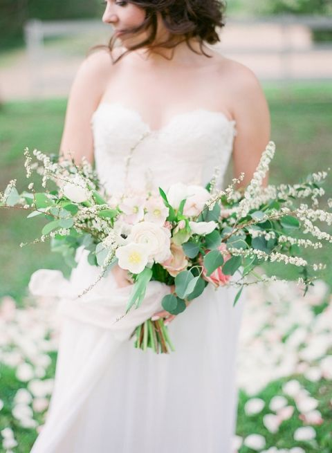 Spring Blossom Wedding Bouquet