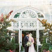 Elegant Greenhouse Wedding in the Heart of Seattle