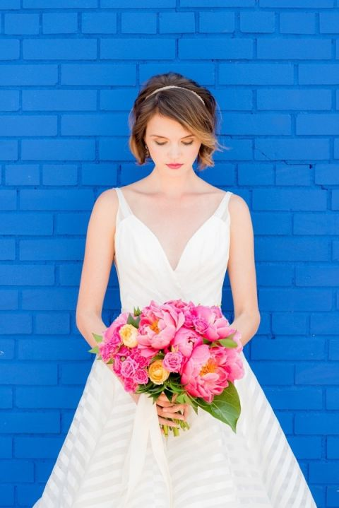 Modern Preppy Hayley Paige Wedding Dress