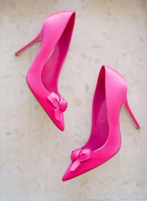 Coral Wedding Shoes 28 Good Hot Pink Bridal Shoes