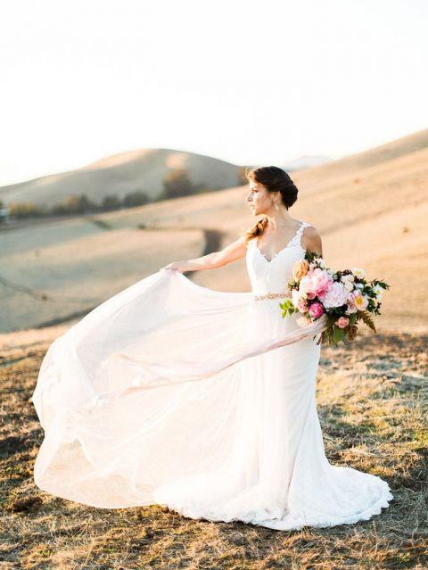 Rustic Wedding Dress 63 Cool Ethereal Magic Hour Wedding
