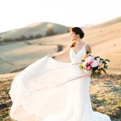 Ethereal Magic Hour Wedding Photos
