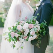 Fine Art Garden Wedding Portraits